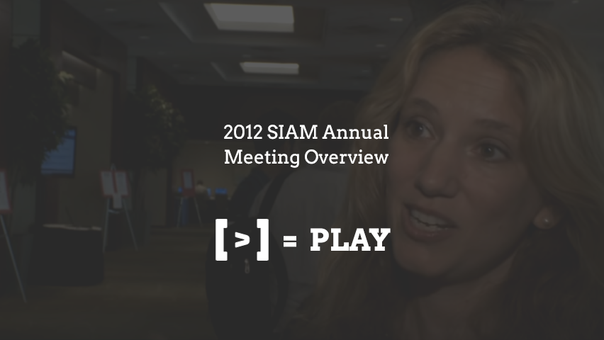 SIAM Annual Meeting Overview
