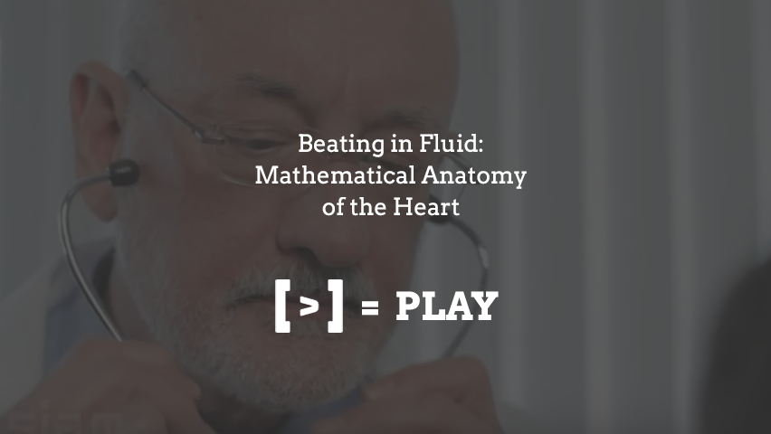 SIAM Annual Meeting: Beating in Fluid: Mathematical Anatomy of the Heart