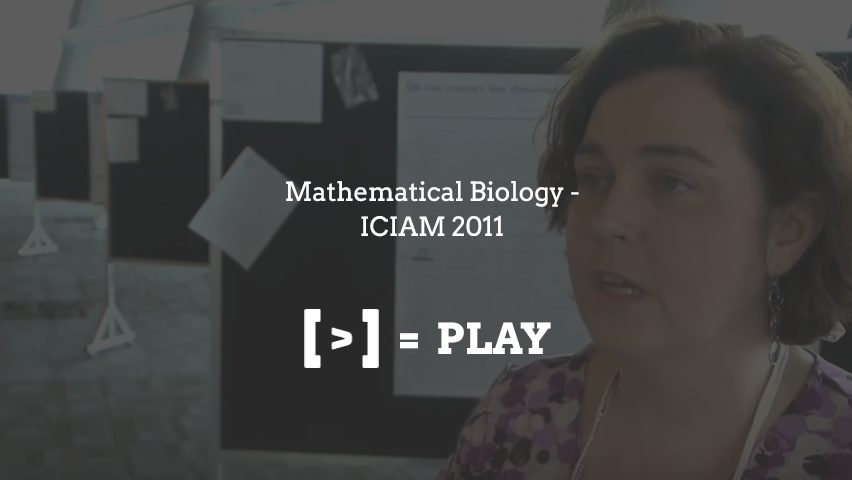 Mathematical Biology - ICIAM2011