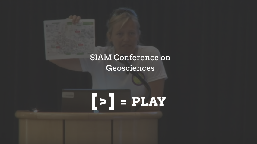SIAM Conference on Geosciences