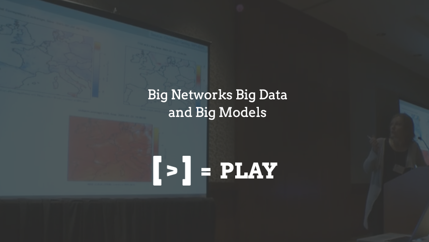 Big Networks Big Data and Big Models