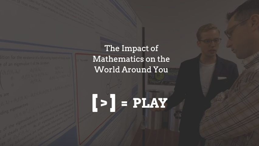 SIAM Annual Meeting 2017: The Impact of Mathematics on the World Around You